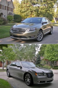 DHS_2013_full_size_sedans_03_Ford_Taurus_Chrysler_300S