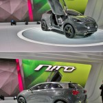 It's a concept, it looks so rad, and Kia hints that the Niro personal crossover utility will become reality in the very near future. Keep your fingers crossed for the butterfly doors to make it.