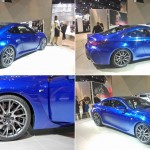 Possibly the best looking luxury performance sports coupe at the 2014 CATA Show: the 2015 Lexus RC-F with 450 horses coming from a twin-cam V8 engine.
