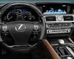 2014 Lexus LS460 interior