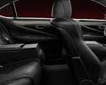 Lexus LS460 interior