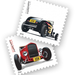 Hot Rod Stamps