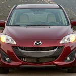 Mazda5 redesigned grille