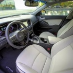Kia Optima EX Hybrid interior
