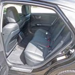 Roomy rear seating