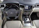 2017 LX 460 interior